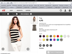 Tablet - product detail pagina zoom - H&M