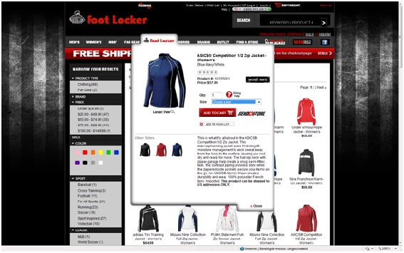 Footlocker Quick view