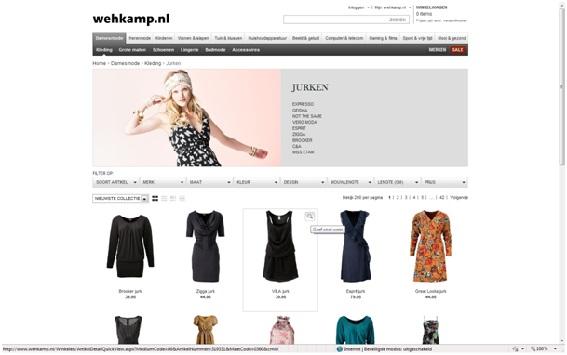 Wehkamp Quickview