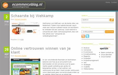 welkom op onze nieuwe blog